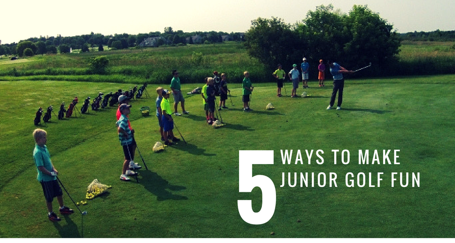 5 Ways to Make Junior Golf More Fun